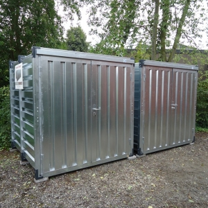 materiaalcontainer 2 meter
