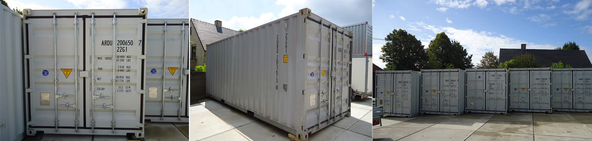 20ft containers by Container Factory